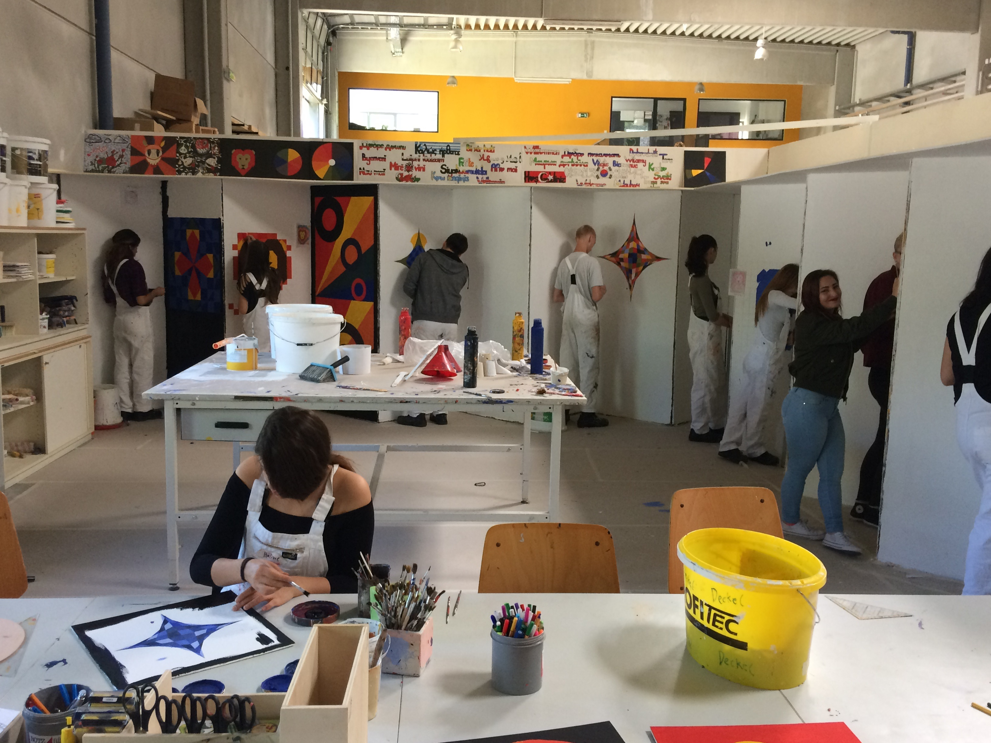 Werkstatt Malerin